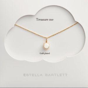 NWT Estella Bartlett Freshwater Pearl Necklace